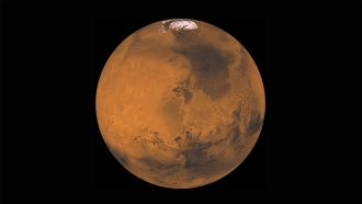 New research suggests giant meteorite impacts on Mars ended 4.48 billion years ago, which might mean there was a period of over a billion years in which life could have developed. It's been thought that Mars and Earth were bombarded with meterorites possibly up until 3.8 billion years ago, but new analyses of minerals from meteorites believed to have come from Mars suggests otherwise. If correct, it might also mean habitable conditions developed on Earth earlier than previously thought.