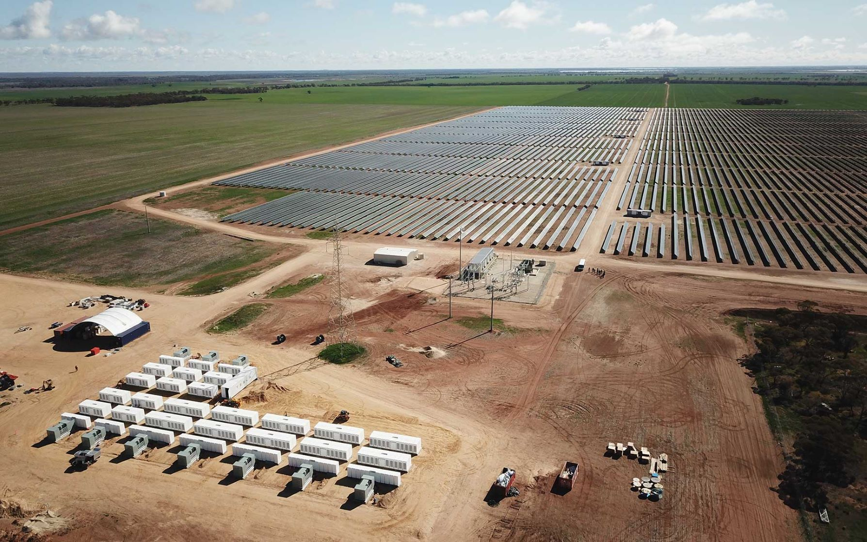 ARENA/Due to the technology's versatility and falling costs, the use of batteries for renewable energy is expected to increase over the coming years.