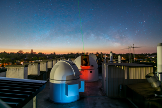Scientists from Western Australia have set a world record for the most stable transmission of a laser signal through the atmosphere. The team combined Aussie 'phase stabilisation' technology with advanced self-guiding optical terminals to 'effectively eliminate atmospheric turbulence,' an advance which could help test Einstein's theory of general relativity.