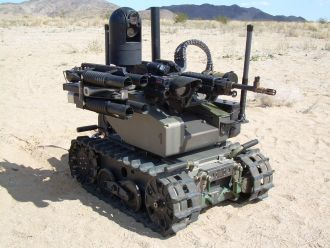 Qinetiq Modular Advanced Armed Robotic System