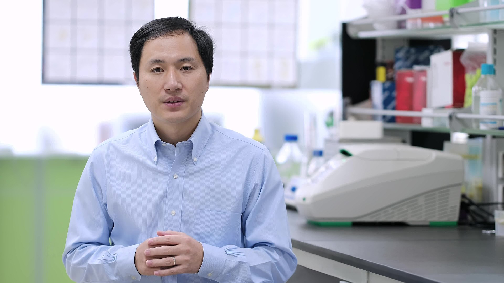 He_Jiankui By The He Lab - This file has been extracted from another file - About Lulu and Nana- Twin Girls Born Healthy After Gene Surgery As Single-Cell Embryos.webmPlay