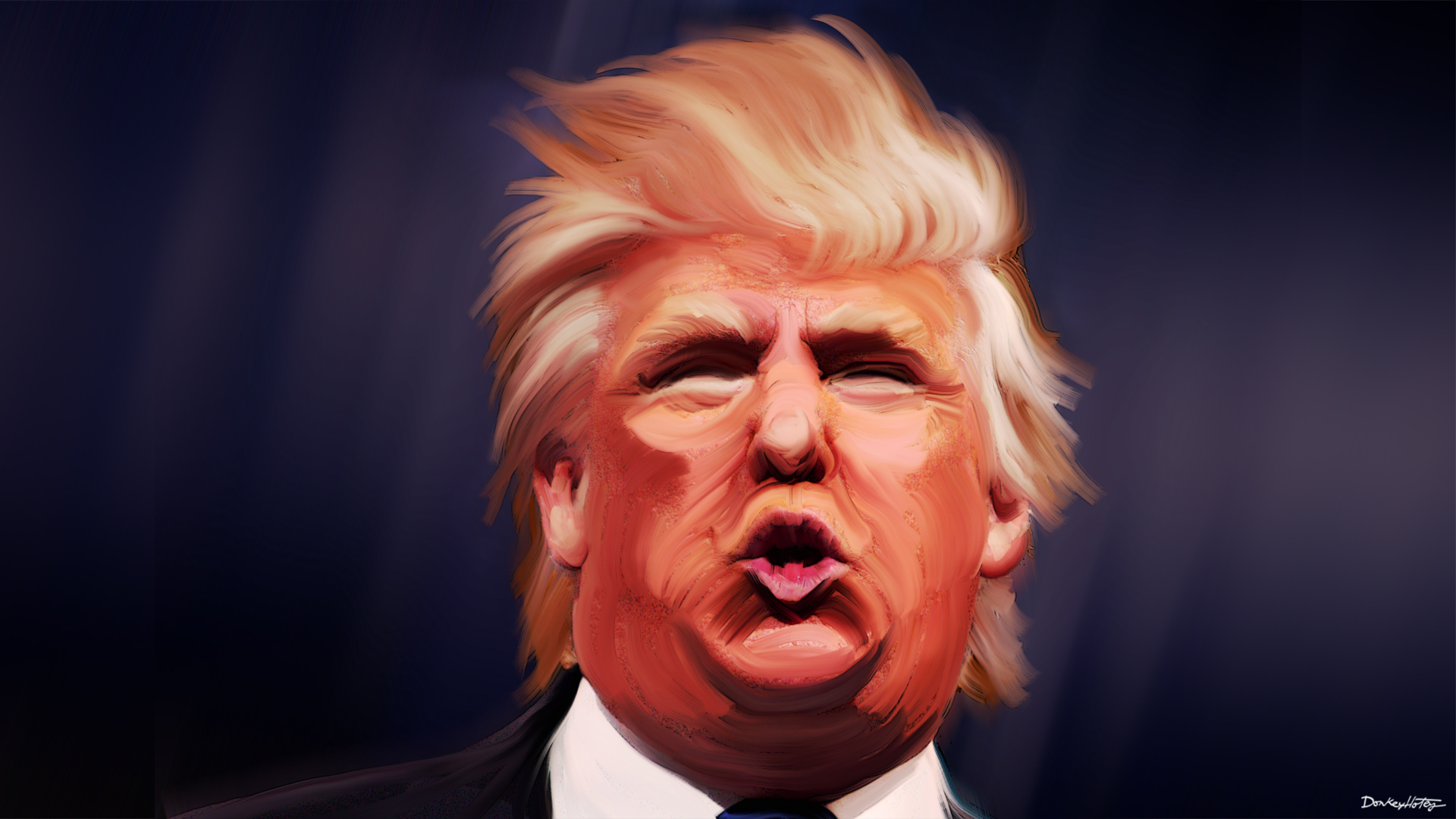 Donald_Trump_Caricature_by_DonkeyHotey CC BY-SA 2_0
