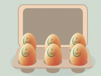 Pasteurised eggs image