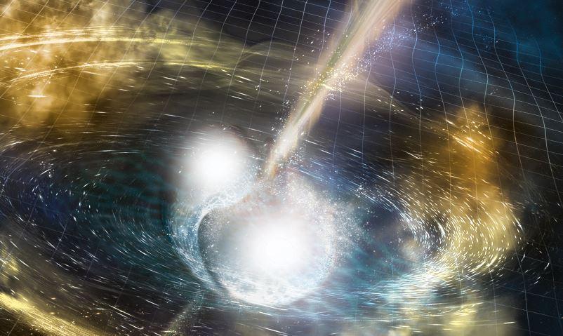 Artist's Impression (Credit: National Science Foundation/LIGO/Sonoma State University/A. Simonnet)