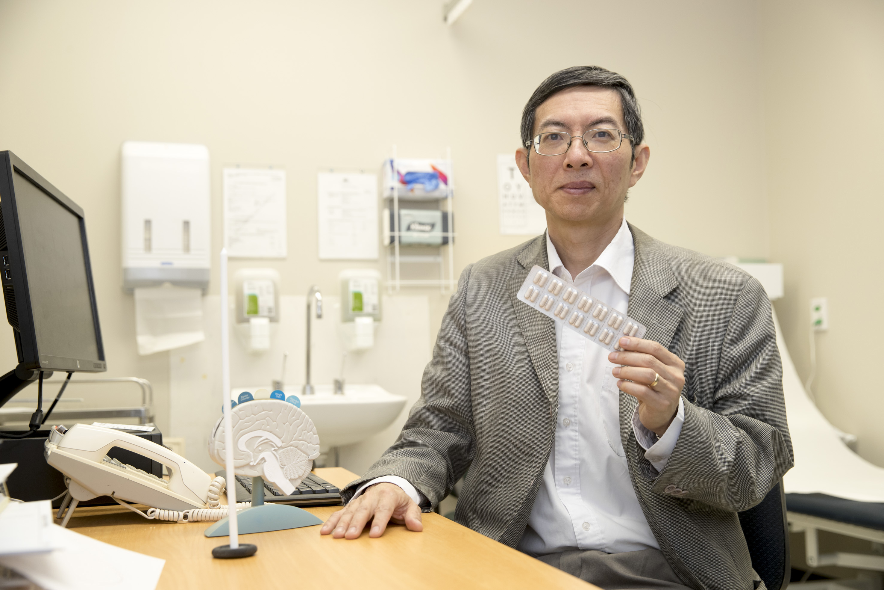 Professor Daniel Chan, clinical trail Principal Investigator and Medical Director of Aged Car and Rehabilitation at Bankstown-Lidcombe Hospital