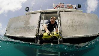 QUT undersea robot