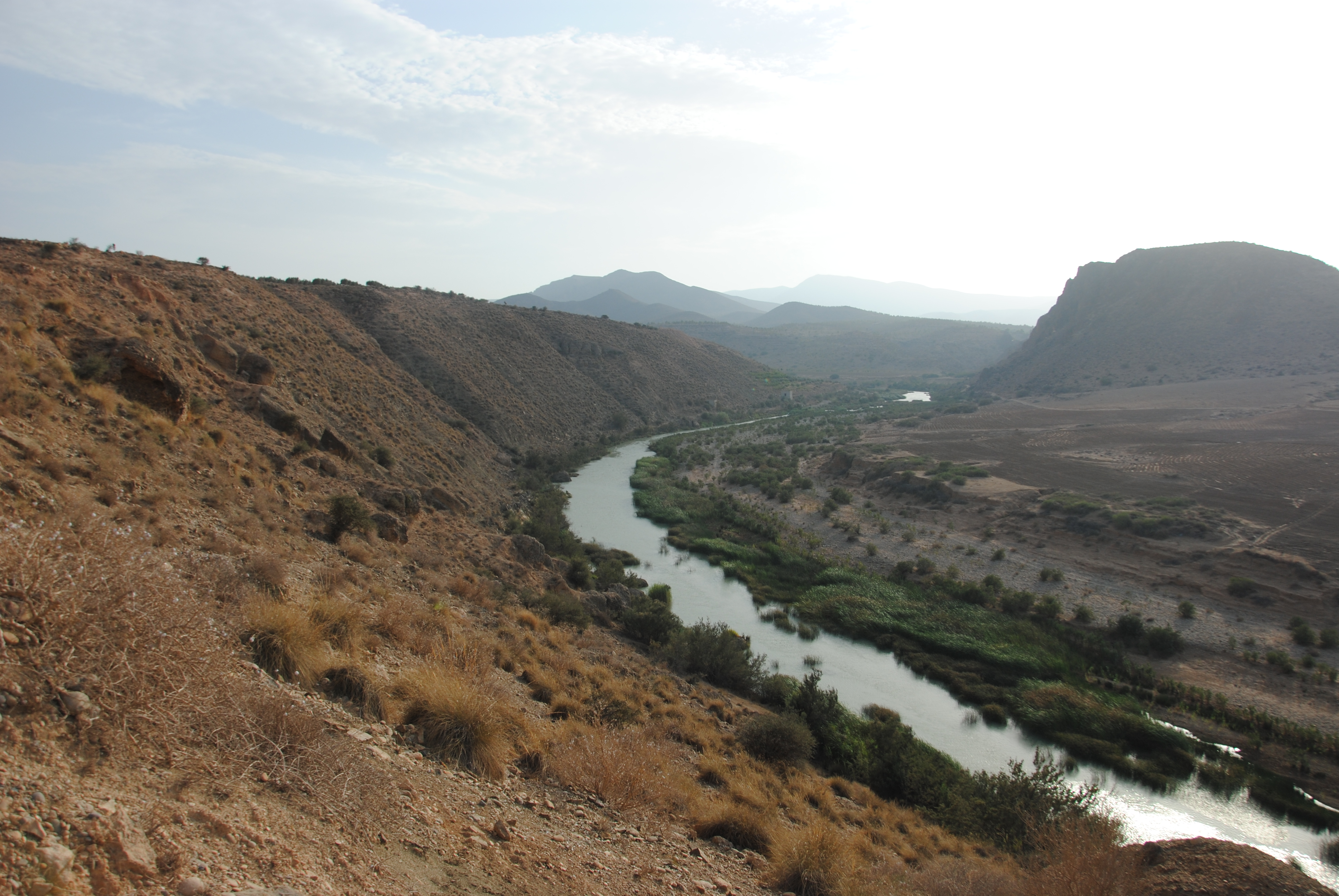 Lower Moulouya river in northeast Morocco. Picture: Melanie Bartz