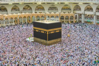 Rising temperatures could potentially endanger those who embark on the Muslim Pilgrimage to Mecca, a US study has found. Muslims are expected to make the journey - known as hajj - at least once in their lifetimes, and it's undertaken at a specific time in the lunar calendar which falls in summer for five to seven years at a time. Their projections found the wet-bulb temperature - when sweat no longer evaporates - will exceed 29.1C 6 per cent of the time by 2020, 20 per cent of the time by 2045, and 42 per cent of the time by 2079. They hope their results inform policies that help keep the millions of annual Muslim travellers safe.