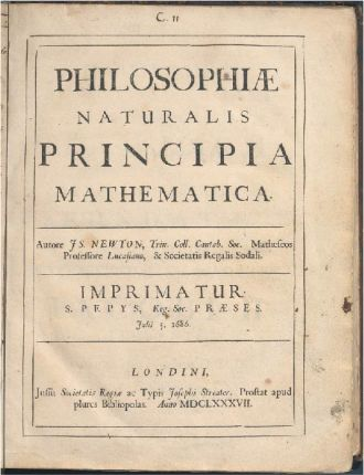 The University of Sydney copy of Principia is one of only four in the world known to have handwriting by Sir Isaac Newton.