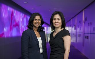 Circulating tumour DNA test trial leaders
