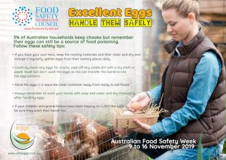 Backyard chickens and food safety