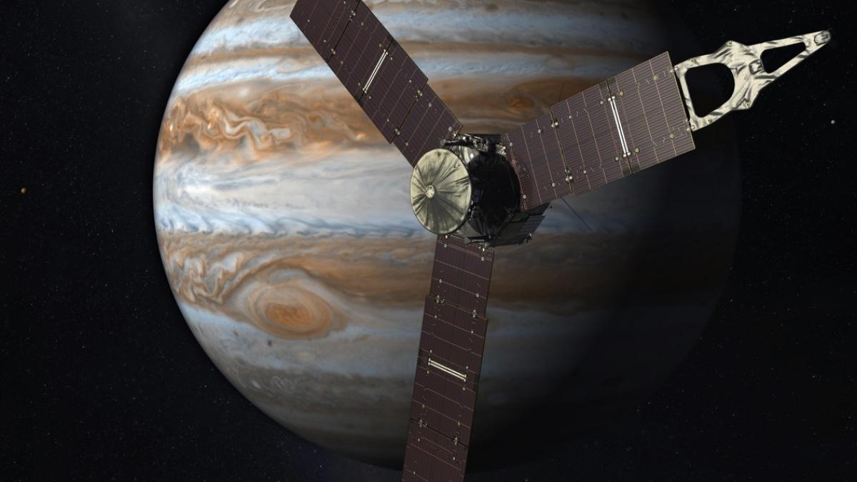 Juno's Jupiter journey. Credit: NASA / JPL Caltech
