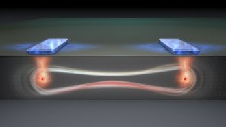 A 'flip-flop' qubit in entangled state