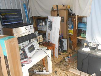 Ivan's back yard laboratory