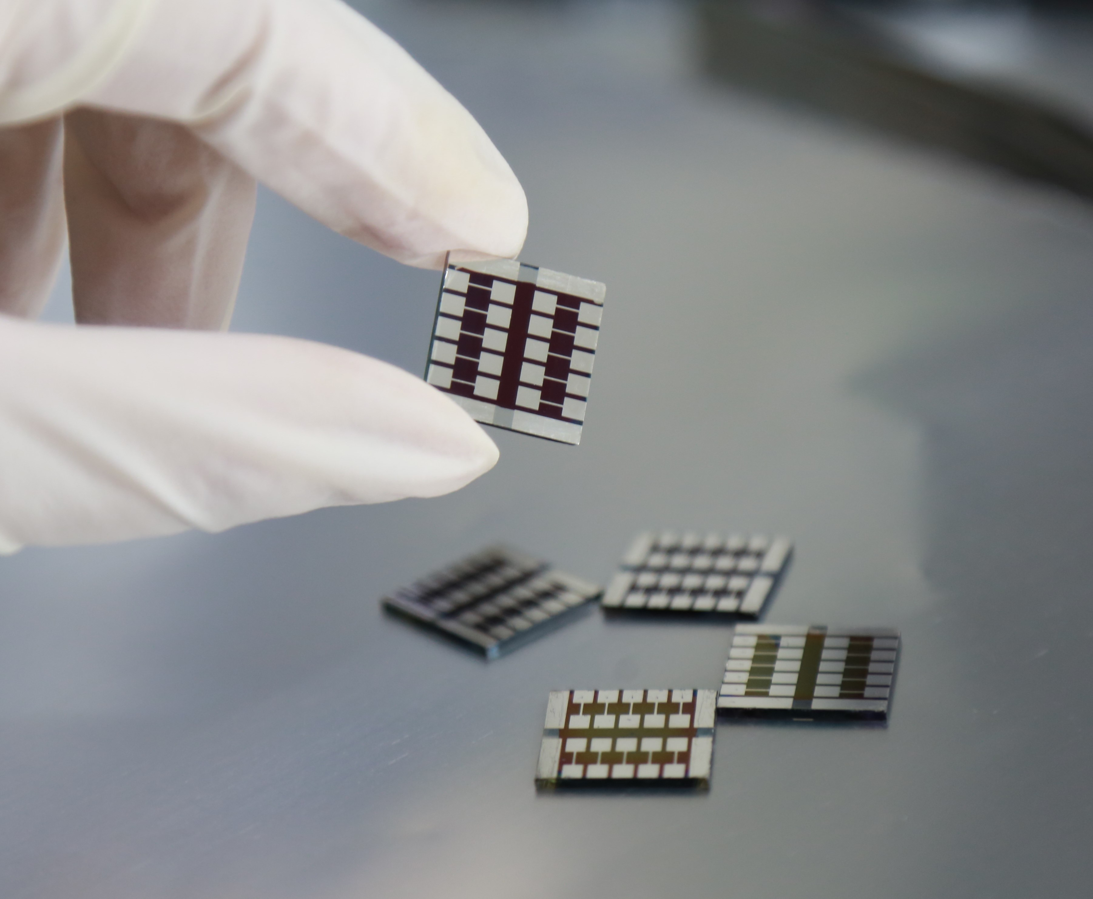 Perovskite solar cells containing capsaicin. Credit: Jin Yang