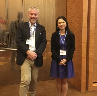 Professor Ben Eggleton and Professor Dawn Tan.