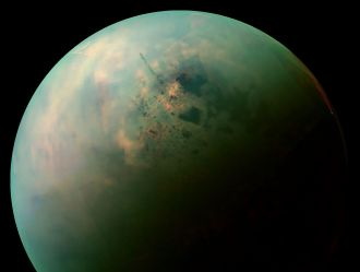 The lakes of Saturn's moon Titan might be encrusted with crystals made from the same compounds as camp stove fuel and welding gas, according to new research involving an Australian that is being presented at the 2019 Astrobiology Science Conference. These crystals could be forming the