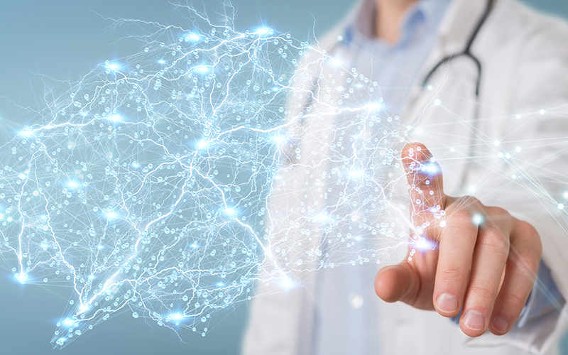 Shutterstock / Neurological medical science concept
