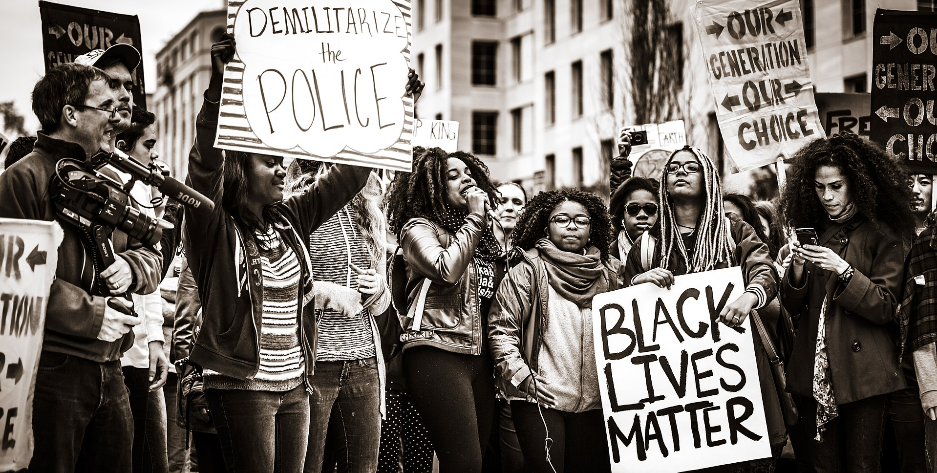Black_Lives_Matter_Protest By Johnny Silvercloud, CC BY-SA 2.0